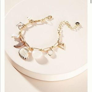 Anthropologie Evie Charm Bracelet